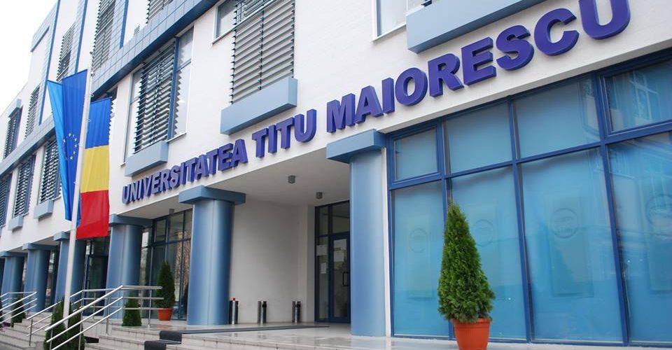 Urmează să devii student? Vino la cea mai bună Universitate privată din țară! Universitatea Titu Maiorescu!