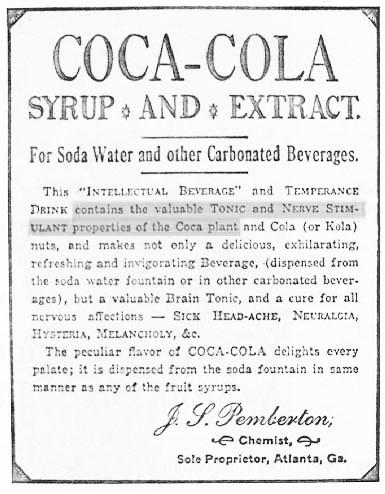 Coca cola cocaina
